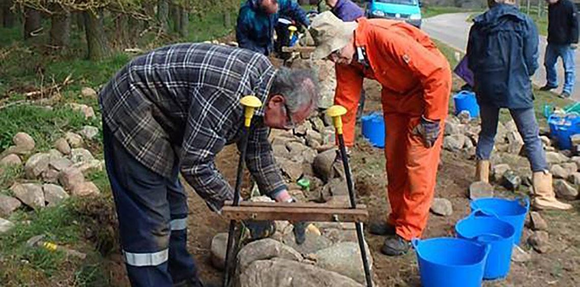 Drystone Dyking Course