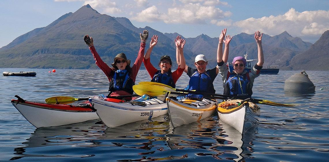 Sea Kayaking expeditions: North-West coast and Hebrides
